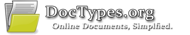 DocTypes