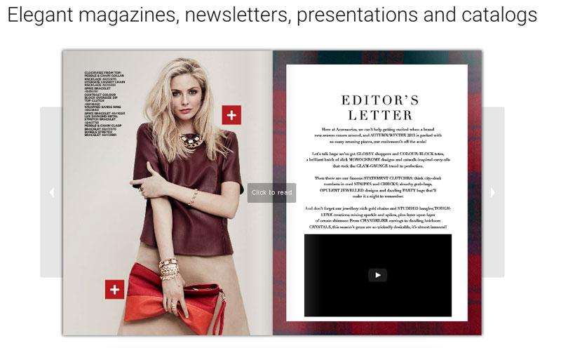 Flipsnack for Fashion Magazines